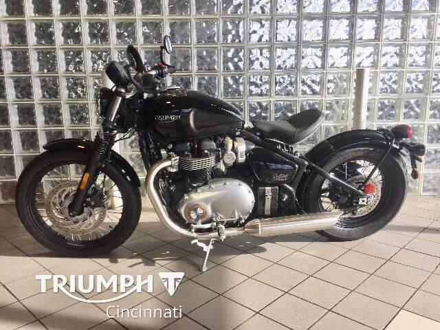 2018 Triumph Bonneville Bobber for sale at TRIUMPH CINCINNATI in Cincinnati OH