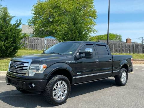 2013 Ford F-150 for sale at Superior Wholesalers Inc. in Fredericksburg VA