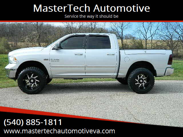 2014 RAM Ram Pickup 1500 for sale at MasterTech Automotive in Staunton VA