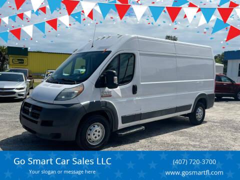 2017 RAM ProMaster Cargo for sale at Go Smart Car Sales LLC in Winter Garden FL