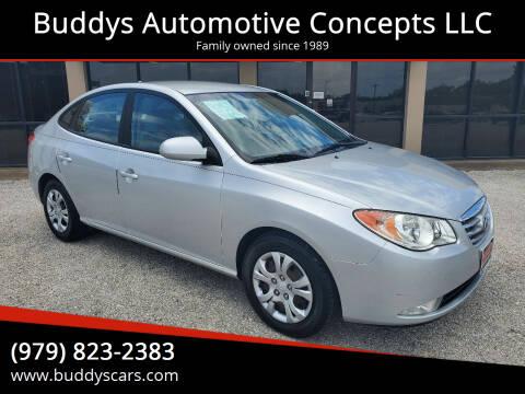 2010 Hyundai Elantra for sale at Buddys Automotive Concepts LLC in Bryan TX