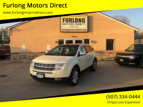 2008 Lincoln MKX for sale at Furlong Motors Direct in Faribault MN