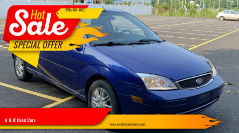 2006 Ford Focus for sale at A & R Used Cars in Clayton NJ
