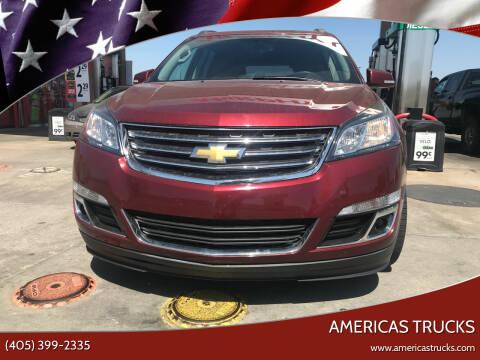 2016 Chevrolet Traverse for sale at Americas Trucks in Jones OK