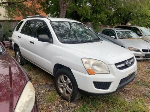 2009 Kia Sportage for sale at C.J. AUTO SALES llc. in San Antonio TX