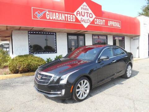 2015 Cadillac ATS for sale at Oak Park Auto Sales in Oak Park MI
