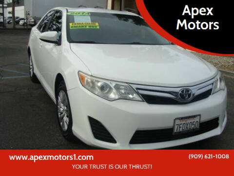 2014 Toyota Camry for sale at Apex Motors in Montclair CA