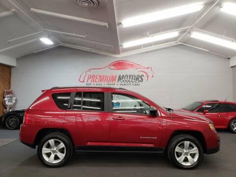 2012 Jeep Compass for sale at Premium Motors in Villa Park IL