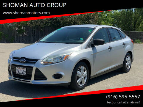 2013 Ford Focus for sale at SHOMAN AUTO GROUP in Davis CA