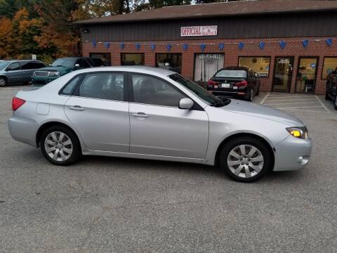 2009 Subaru Impreza for sale at Official Auto Sales in Plaistow NH