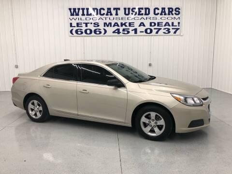 2016 Chevrolet Malibu Limited for sale at Wildcat Used Cars in Somerset KY
