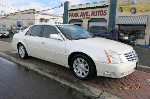 2008 Cadillac DTS for sale at PARK AVENUE AUTOS in Collingswood NJ