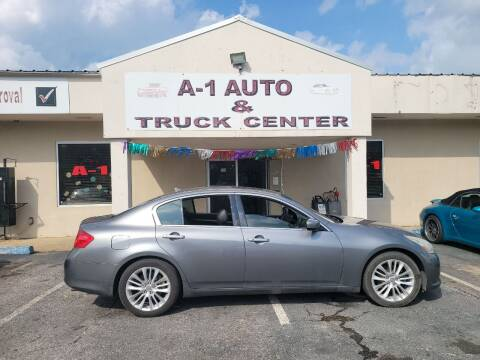 2011 Infiniti G37 Sedan for sale at A-1 AUTO AND TRUCK CENTER in Memphis TN