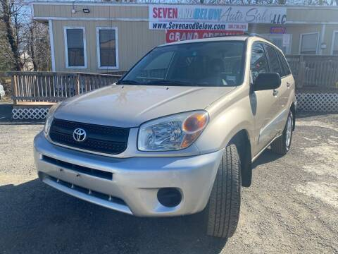 2005 Toyota RAV4 for sale at Seven and Below Auto Sales, LLC in Rockville MD