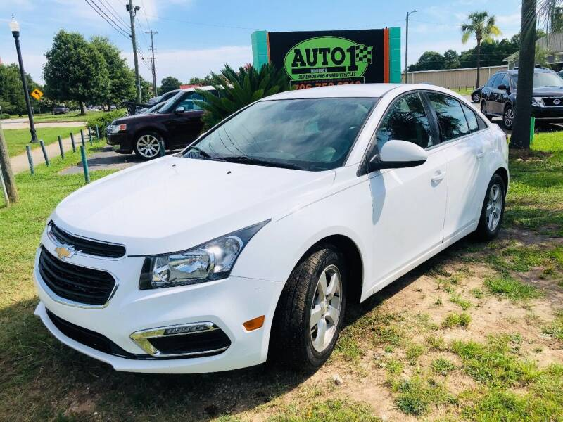 2016 Chevrolet Cruze Limited for sale at Auto 1 Madison in Madison GA