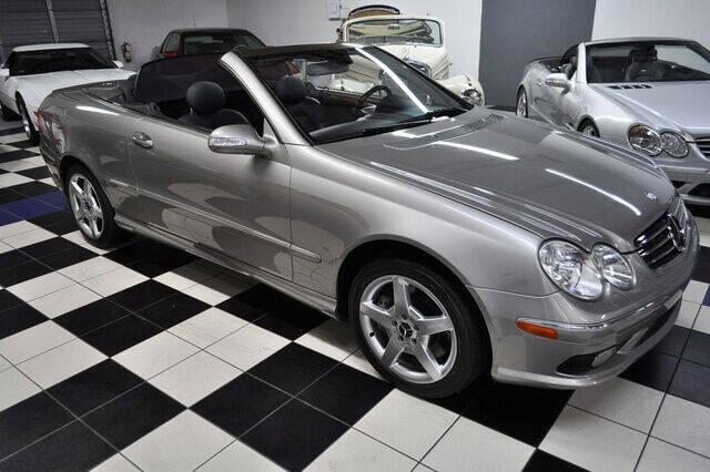 2005 Mercedes-Benz CLK for sale at Podium Auto Sales Inc in Pompano Beach FL