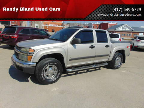 2007 Chevrolet Colorado for sale at Randy Bland Used Cars in Nevada MO