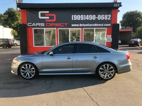 2013 Audi A6 for sale at Cars Direct in Ontario CA