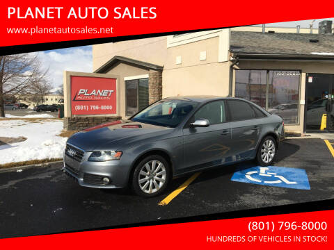 2012 Audi A4 for sale at PLANET AUTO SALES in Lindon UT