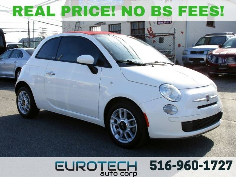2013 FIAT 500c for sale at EUROTECH AUTO CORP in Island Park NY