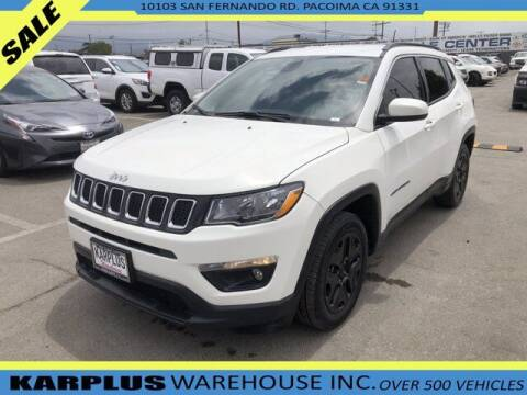 2019 Jeep Compass for sale at Karplus Warehouse in Pacoima CA