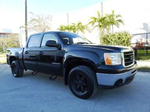2011 GMC Sierra 1500 for sale at SUPER DEAL MOTORS in Hollywood FL