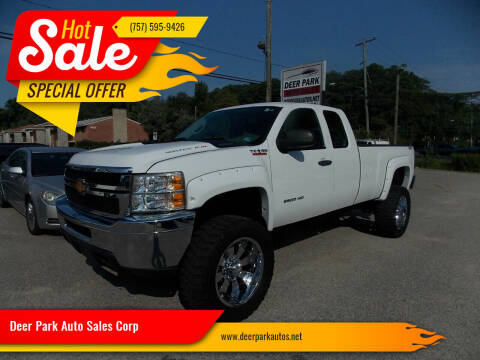 2012 Chevrolet Silverado 2500HD for sale at Deer Park Auto Sales Corp in Newport News VA