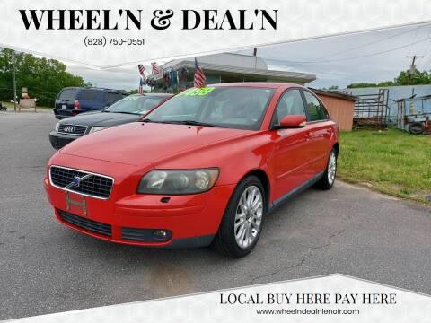 2005 Volvo S40 for sale at Wheel'n & Deal'n in Lenoir NC