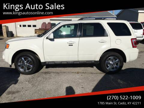 2011 Ford Escape for sale at Kings Auto Sales in Cadiz KY