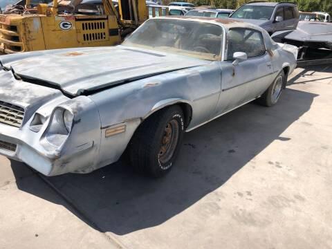 1979 Chevrolet Camaro for sale at GEM Motorcars in Henderson NV