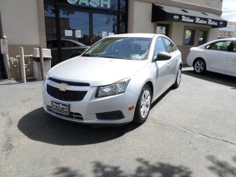2012 Chevrolet Cruze for sale at Wilson-Maturo Motors in New Haven Ct CT