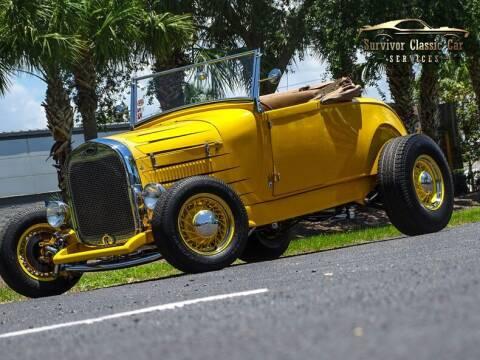 1929 Ford Model A for sale at SURVIVOR CLASSIC CAR SERVICES in Palmetto FL
