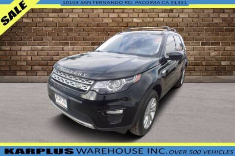 2017 Land Rover Discovery Sport for sale at Karplus Warehouse in Pacoima CA
