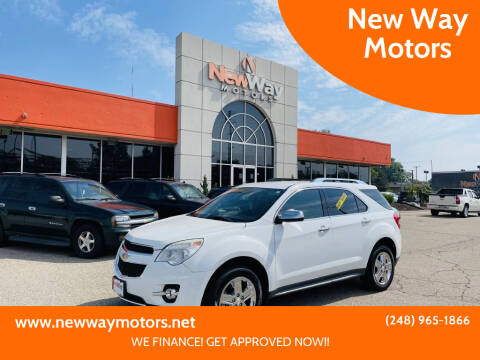 2015 Chevrolet Equinox for sale at New Way Motors in Ferndale MI