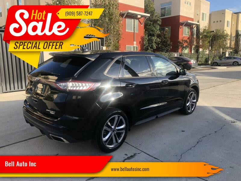 2018 Ford Edge for sale at Bell Auto Inc in Long Beach CA