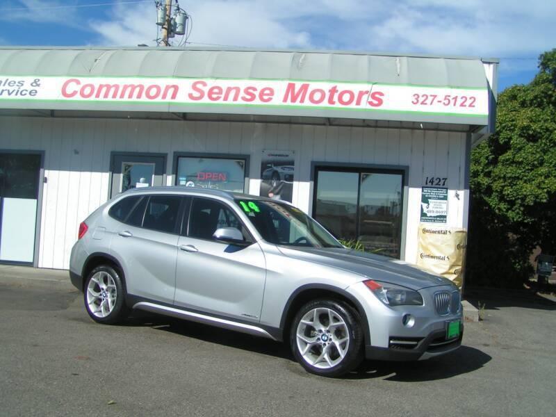 2014 BMW X1 for sale at Common Sense Motors in Spokane WA