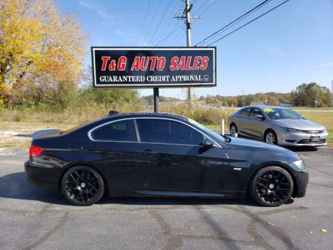 2008 BMW 3 Series for sale at T & G Auto Sales in Florence AL