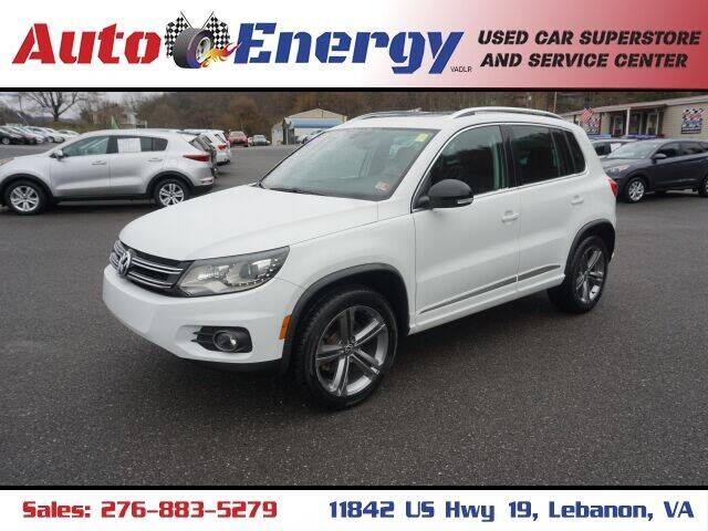 2017 Volkswagen Tiguan for sale at Auto Energy in Lebanon VA
