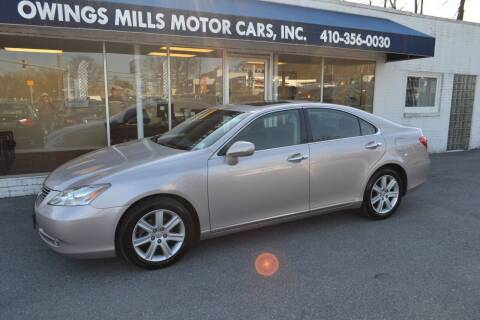 2008 Lexus ES 350 for sale at Owings Mills Motor Cars in Owings Mills MD