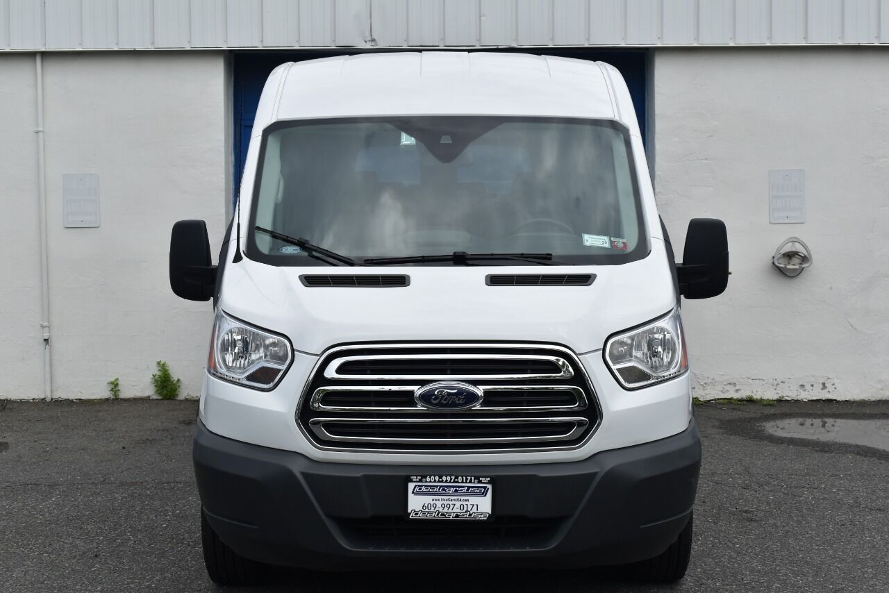 2018 Ford Transit Passenger 350 XLT 3dr LWB Medium Roof Passenger Van w/Sliding Side Door full