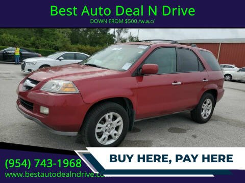 2005 Acura MDX for sale at Best Auto Deal N Drive in Hollywood FL