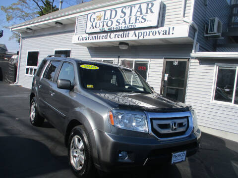 2010 Honda Pilot for sale at Gold Star Auto Sales in Johnston RI