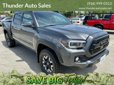 2019 Toyota Tacoma for sale at Thunder Auto Sales in Sacramento CA