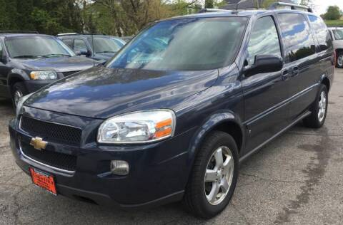 2008 Chevrolet Uplander for sale at Knowlton Motors, Inc. in Freeport IL