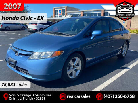 2007 Honda Civic for sale at Real Car Sales in Orlando FL
