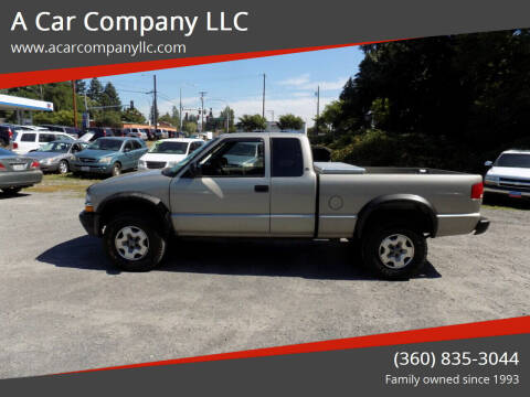 2002 Chevrolet S-10 for sale at A Car Company LLC in Washougal WA