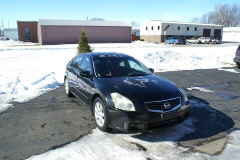2007 Nissan Maxima for sale at MARK CRIST MOTORSPORTS in Angola IN