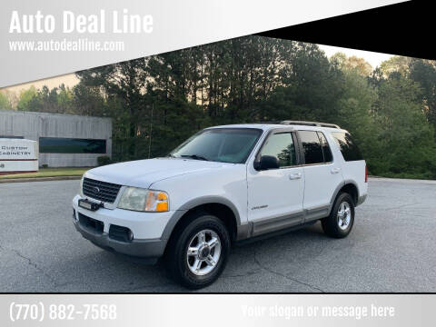 2002 Ford Explorer for sale at Auto Deal Line in Alpharetta GA