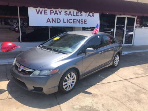 2011 Honda Civic for sale at BRAMLETT MOTORS in Hope AR