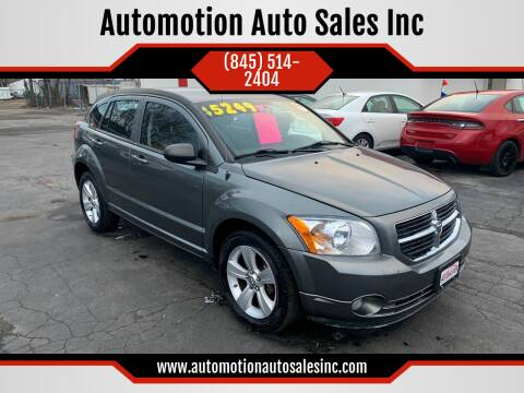 2011 Dodge Caliber for sale at Automotion Auto Sales Inc in Kingston NY